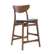 "Simplicty 24"" Bar Stool with Cushion (Set of 4)"