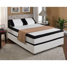 "Cool Jewel Midnight 12"" Gel Memory Foam Mattress"