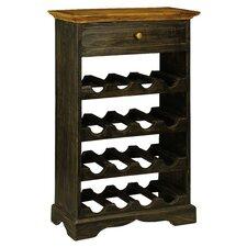 Auburn 16 Bottle Floor Wine Rack