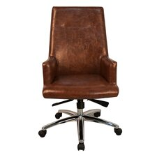 Lincoln High-Back Office Chair with Arms