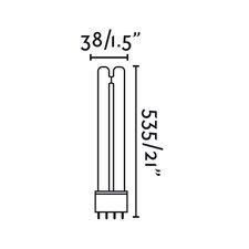 10-tlg. Leuchtstoffröhre 2G11 55W