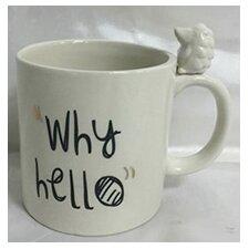 Animal Kingdom Why Hello Mug