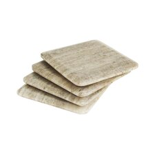 Marble Wood Coaster (Set of 4)
