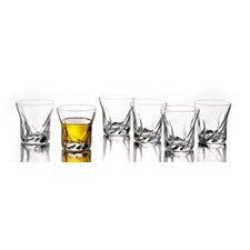Twist 2.75 Oz. Shot Glasses (Set of 6)