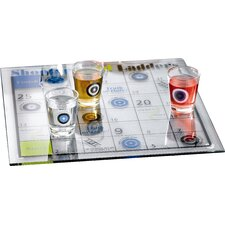 Game Night 9 Piece Drinking Shoot and Ladder Game Set