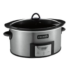 6 Qt. Countdown Slow Cooker with Stove-Top Browning