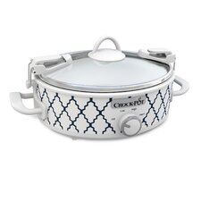 2.5-Quart Casserole Oval Slow Cooker