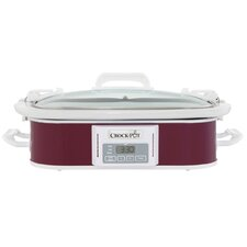 3.5-Quart Programmable Casserole Slow Cooker
