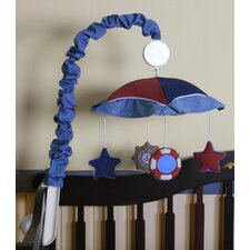 Boutique Baby Boy Sailor Music Mobile