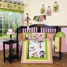 Boutique Monkey 13 Piece Crib Bedding Set