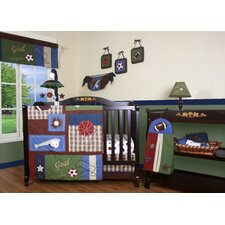 Boutique Classic Sport 11 Piece Crib Bedding Set