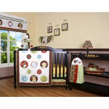 Boutique Animal Scholar 13 Piece Crib Bedding Set