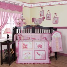 Boutique Dragonfly 13 Piece Crib Bedding Set