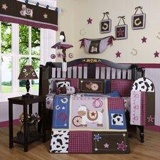Boutique Western 13 Piece Crib Bedding Set