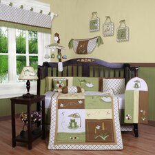 Boutique New Froggy Froggie13 Piece Crib Bedding Set