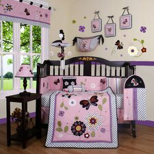 Boutique Daisy Garden 13 Piece Crib Bedding Set