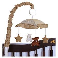 Boutique Teddy Bear Music Crib Mobile