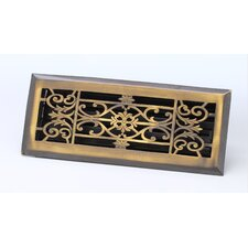 "4"" x 14"" Decorative Floor Register"