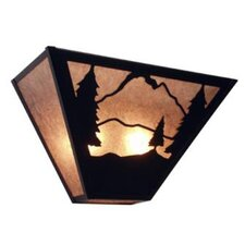 Timber Ridge 2 Light Tapered Wall Sconce
