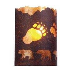 A Bear was Here 1 Light Timber Ridge