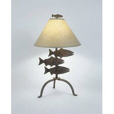 """Fish 26"""" H Table Lamp with Empire Shade"""