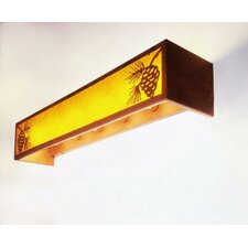 Pinecone 6 Light Vanity Wall Sconce