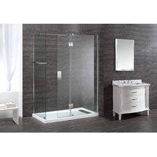 "Nevis 46.6"" x 79"" Shower Door"