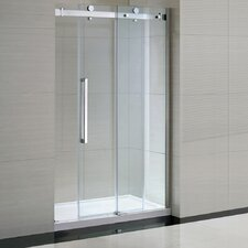 "Sierra 48"" Glass Panel Door"