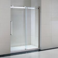 "Sierra 82"" x 60"" x 32"" Glass Panel Door"