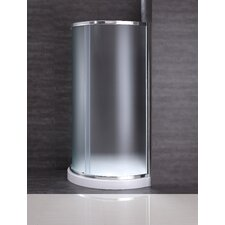 """Breeze 31"""" x 31"""" x 76"""" Neo - Angle Frosted Glass Kit"""