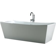 "Terra 70"" x 34.25"" Soaking Bathtub"