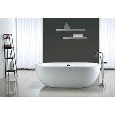 "Serenity 71"" x 34"" Acrylic Freestanding Bathtub"