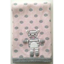 Kitty 3D Stroller Blanket