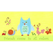Animals English Friends Come in All Colors Canvas Art