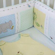 Sweet Pea Baby 3 Piece Crib Bedding Set (Set of 3)