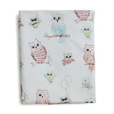 Baby Owls Fitted Sheet