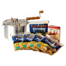 Whirley Pop 6 Piece Stove Top Popcorn Popper Set