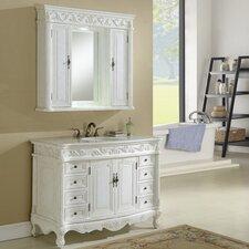 """Villa 48"""" Single Vanity Set with Medicine Cabinet"""