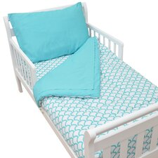 Percale 4 Piece Toddler Bedding Set
