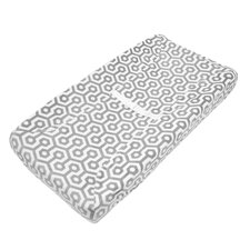Heavenly Soft Chenille Contoured Changing Table Cover
