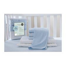 Starter 6 Piece Crib Bedding Set