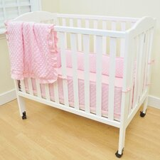 Heavenly Soft 3 Piece Crib Bedding Set