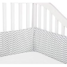 Percale Zigzag Crib Bumper