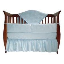Heavenly Soft 4 Piece Crib Bedding Set