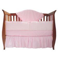 Heavenly Soft 4 Piece Crib Bedding Set