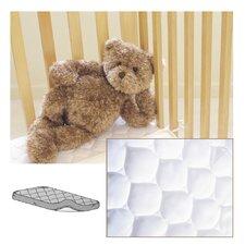 Waterproof Quilted Mini Crib Mattress Pad