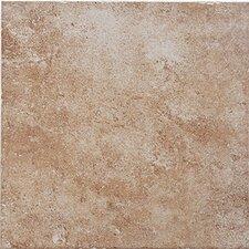 "Montreaux 13"" x 13"" Ceramic Field Tile in Brun"