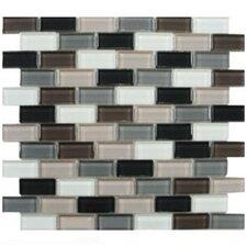 Shimmer Blends Ceramic Mosaic Tile in Autumn