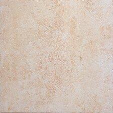 "Montreaux 18"" x 18"" Ceramic Field Tile in Blanc"