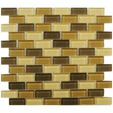 Shimmer Blends Ceramic Mosaic Tile in Desert